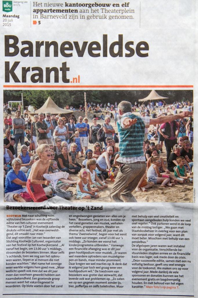 Media - Theater op 't Zand