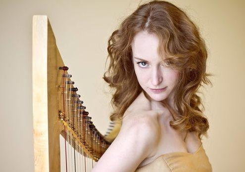 Harpiste Mechteld Karlien